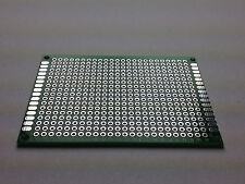 Perfboard 70x50 mm | Pitch 2.54 mm | Double Sided | FR-4