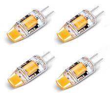 4X G4 3W LED COB Birne Lampe Stiftsockel Leuchtmittel Bulb Spot AC DC 12V 3300K