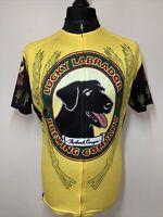 Lucky Labrador Brewing Company Portland Oregon Cycling Sports Jersey Shirt XL