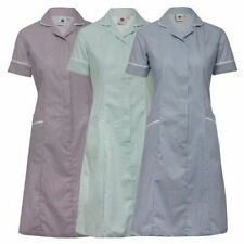 Stripe striped uniform dress Nurse Hospital vet Carer Domestic Cleaner NHS NEW