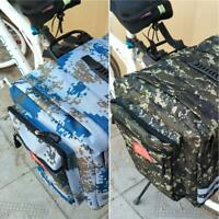 Enlarged Universal Bicycle Rear Rack Seat Trunk Saddle Storage Pannier Pouch Bag
