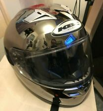KBC VR2 Zox Motorcycle Helmet Shiny Grey Size M (57-58cm) Snell DOT Approved