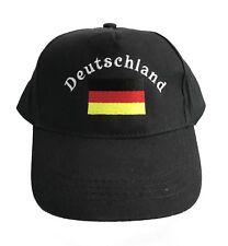 Kinder Cap Kappe Mütze Deutschland Fan Germany Fanartikel Baseballcap