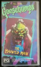 Goosebumps The Haunted Mask VHS 20th Century Fox Video