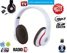 AURICULAR WIRELESS BLUETOOTH CON LED MP3 MICRO SD RADIO FM DJ