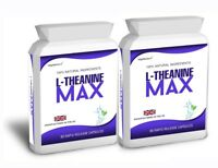L-Theanine 200mg Capsules 98% L-Theanine Max from Green Tea 180 Capsules