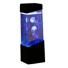 Jellyfish Tank Water Aquarium Color Changing Mood Relaxing Lamp Light Gifts