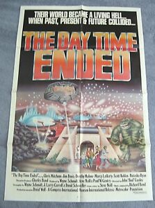Day Time Ended (1980) folded 1-sheet.Sci-Fi