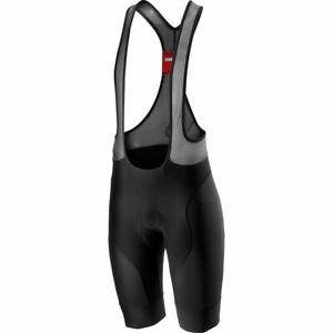 NEW 2021 Castelli Free Aero Race 4 Bib Shorts, Black, Large