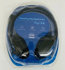 Pro Gamer Gaming Headphones Headset for PS4 Playstation Video Game w/ Voice Chat