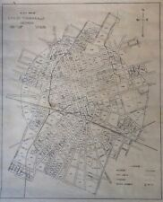 Block Map of the City of Thomasville Georgia C.E. LAYTON 1946