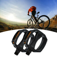 "ROAD MOUNTAIN MTB ATB BICYCLE BIKE PEDALS NYLON CAGE 9/16"" PAIR"