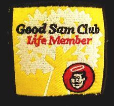 GOOD SAM CLUB baseball hat Life Member patch Nascar cap RV embroidery
