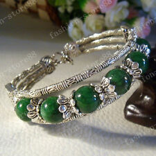 Fashion jewelry Tibet Tibetan silver Lucky beads ladies bracelet bangle SZS1102