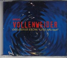 "ANDREAS VOLLENWEIDER Excerpts From ""Live 1982-1994"" 6 track PROMO CD"