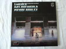 WAGNER PIERRE BOULEZ BAYREUTHER FESTSPIELE DAS RHEINGOLD PHILIPS 3 LP COFFRET