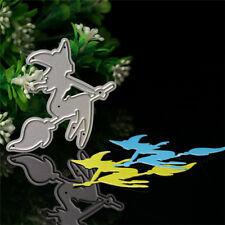 Witch Cutting Dies Metal Stencil Scrapbooking Album Paper DIY Card Embossing Hot