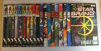 Star Brand #1-19 + Annual #1 VF/NM to NM+ COMPLETE SET 20 COMICS!! (Marvel 1986)
