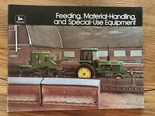 John Deere 1975 Feeding, Material Handling and Special Use Equipment Brochure