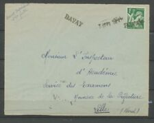 3 Sept 1944 Lettre cachet de fortune De Bavay Pour Lille P2996