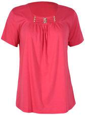 Damenblusen, - tops & -shirts aus Baumwolle mit Rüschen Normalgröße