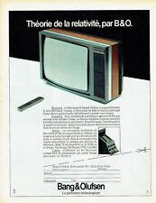 Publicité Advertising 068  1983   téléviseur Boevision Bang & Olufsen Pal Secam