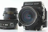 【EXC+5】   Mamiya RB67 Pro S Sekor C 65mm f4.5+SF C 150mm f4 filmback×2 japan#467