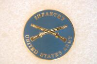 US USA Army Infantry Military Hat Lapel Pin