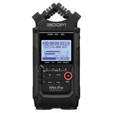 Zoom H4N Pro Handy Digital Recorder - High Quality Stereo Audio Recorder - Black