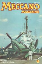 1951 MAY 33610 Meccano Magazine Cover Picture  FIGHTERS AFLOAT