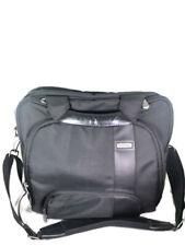 Toshiba Black Woven Fabric Shoulder Strap Messenger Laptop Case Bag