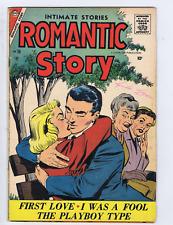 Romantic Story  #36 Charlton Pub 1957