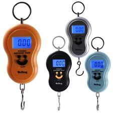 Digital LCD Portable Electronic Hook Scale Hanging Luggage Weight SCALE 10g-50kg