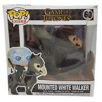 POP Rides: Game Of Thrones - Mounted White Walker 60 Funko Pop Vinyl *Box Damage