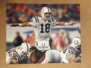 Peyton Manning Super Bowl XLI Glossy 8 X 10 Photo Indianapolis Colts -