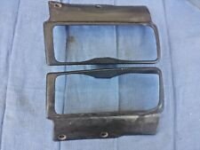 77-78 DATSUN 280z front turn signal trim grill covers pair L&R