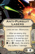 X-Wing Miniatures Anti-Pursuit Lasers Modification Card