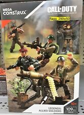 *MEGA CONSTRUX CALL OF DUTY* Legends Allied Soldiers Construction Set #FMG15