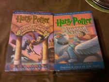 harry potter audio books on cassette set of three
