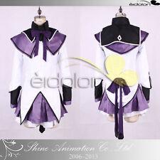 EE0021AA Puella Magi Madoka Magical Akemi Homura Cosplay costume