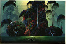 "Eyvind Earle     ""Mendocino ""    MAKE  OFFER    DSS"