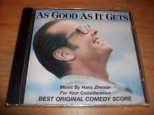 As Good As It Gets For Your Consideration Comedy Score Music CD Jack Nicholson
