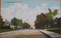 1910 Postcard - ''College Street - Macon, Georgia, GA''