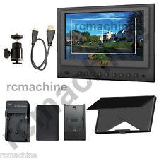 "NEW Lilliput 7"" 5D-II HDMI In video Monitor+LP-E6 Battery Canon 5D Mark II 5d2"
