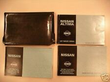 Altima 97 1997 Nissan Owners Owner's Manual Set Case