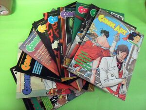 COMIC ART DAL N°51 AL N°60.1989