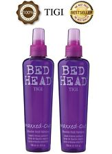 2 x TIGI BED HEAD MAXXED OUT MASSIVE HOLD HAIRSPRAY 236ML