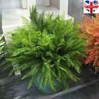 Large Artificial Plants Fake Leaf Foliage Bush Home Office Garden Outdoor Decor