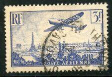 PROMOTION / TIMBRE FRANCE OBLITERE PA N° 12 AVION SURVOLANT PARIS