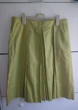 Hugo Boss green silk skirt size 10